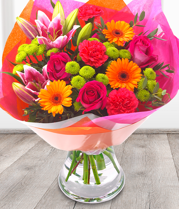 Vibrant Bouquet - Flowers aRe Us Belfast | Florist | Bouquets ...