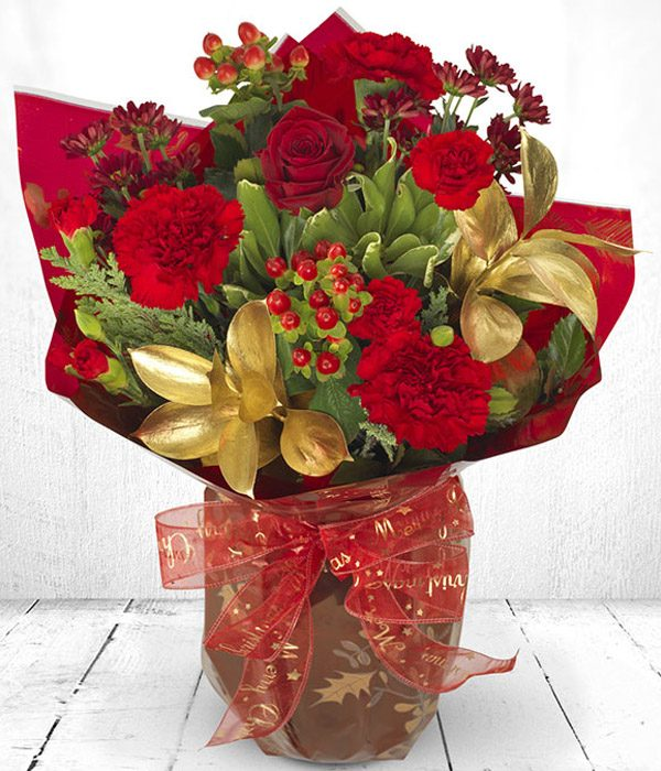 Berry Christmas - Flowers aRe Us Belfast | Florist | Bouquets ...
